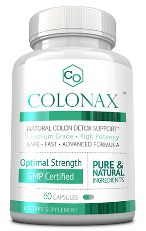 Colonax ingredients bottle